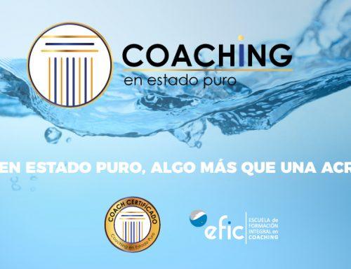 Coaching en Estado Puro, algo más que una acreditación