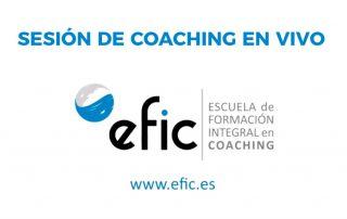 Sesion de coaching en vivo Efico